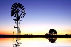 Pompa di vento Fotografia Stock