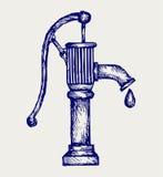 Pompa idraulica Immagini Stock Libere da Diritti
