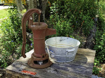 Pompa idraulica Immagine Stock Libera da Diritti