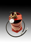 Pompa idraulica Fotografie Stock Libere da Diritti