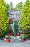 Pompa idraulica antiquata Fotografie Stock Libere da Diritti