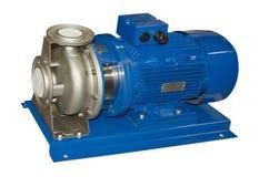 Pompa idraulica elettrica immagini stock