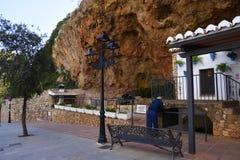 Pompa idraulica a Mijas nelle montagne sopra Costa del Sol in Spagna Fotografia Stock