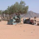 Pompa idraulica nel deserto Immagini Stock Libere da Diritti