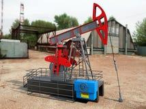 Pompa Jack Oil Crane Fotografie Stock Libere da Diritti
