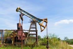 pompa oleju przemysłowej Obrazy Royalty Free