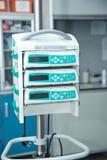 Pompa per infusione medica fotografia stock