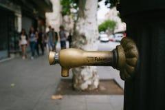 Pompa wodna w Barcelona Zdjęcie Stock