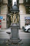 Pompa wodna w Barcelona Fotografia Stock