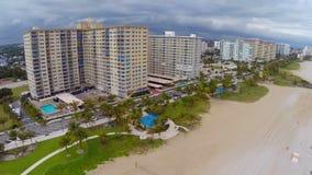 Pompano Strand Florida stock video