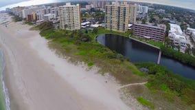 Pompano Strand Florida stock footage