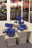 Pompas hydráulicas y motores Fotografía de archivo