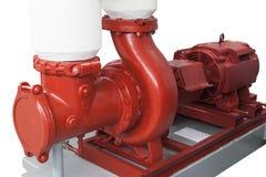 Pompe à eau de chauffage Photographie stock libre de droits