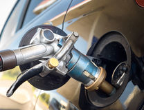 Pompe à essence Photos stock