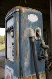 Pompe à gaz de cru Photo libre de droits