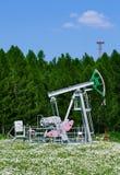 Pompe à huile photo stock