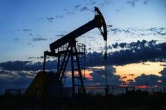Pompe à huile Images stock