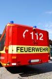 Pompe à incendie allemande Images libres de droits