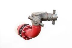Pompe à incendie de canalisation Image libre de droits