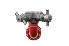 Pompe à incendie de canalisation Photo libre de droits