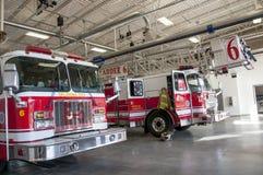 Pompe à incendie de Ville d'Oklahoma Images stock