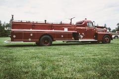Pompe à incendie de vintage Image libre de droits