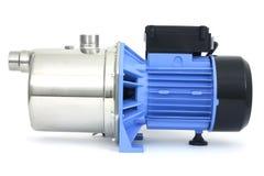 Pompe avec un moteur électrique Photographie stock libre de droits