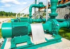 Pompe centrifuge et moteur Photos libres de droits