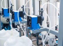Pompe chimique Image stock