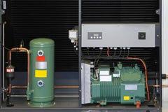Pompe d'échangeur de chaleur Photographie stock