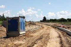 Pompe d'excavation Photos libres de droits