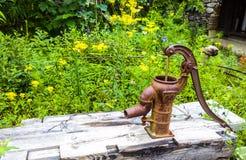 Pompe de basculage Photo libre de droits