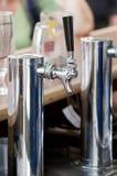 Pompe de bière Images libres de droits