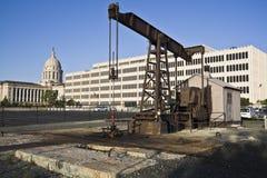 pompe de l'Oklahoma de ville Photo libre de droits