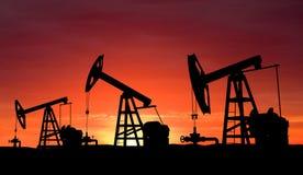 Pompe de pétrole Photo stock