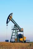 Pompe de pétrole industrielle Photo stock