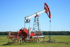 Pompe de pétrole Jack image libre de droits
