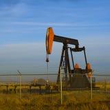 Pompe de pétrole lourd Jack Images stock