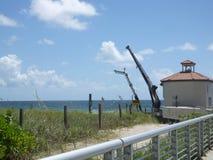 Pompe de transfert de sable Photo stock