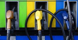 Pompe del combustibile Immagini Stock