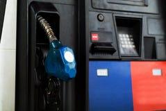 Pompe del combustibile Fotografie Stock