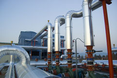 Pompe dell'impianto di climatizzazione Fotografia Stock