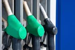 Pompe della benzina Fotografie Stock