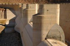Pompe della diga di Hoover Fotografia Stock