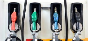 Pompe à essence Photographie stock libre de droits