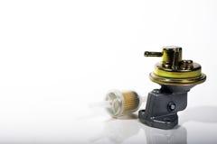 Pompe et filtre à essence de voiture Photographie stock