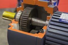 pompe industrielle pour l'équipement résistant image libre de droits