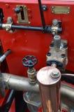 Pompe pré 1960 à eau de camion de pompiers Images stock