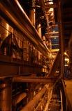 Pompe sulla centrale elettrica Fotografia Stock