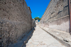 Pompei Stock Afbeelding
